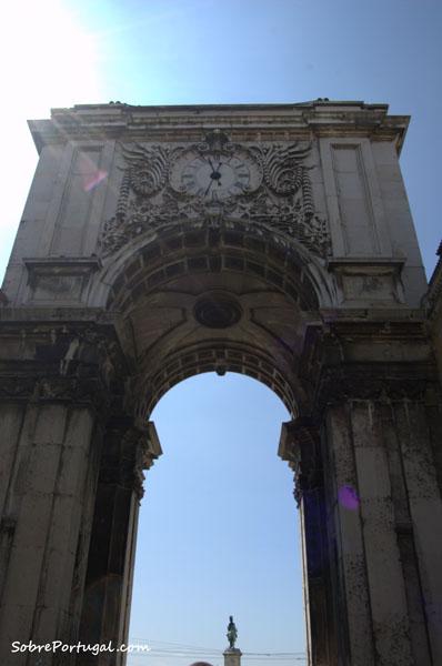 Arco de plaza del comercio