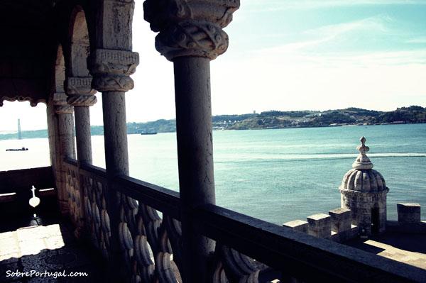 Lisboa desde la Torre de Belem