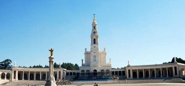 Santuario de Fatima en Portugal