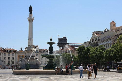 Baixa, el centro de Lisboa