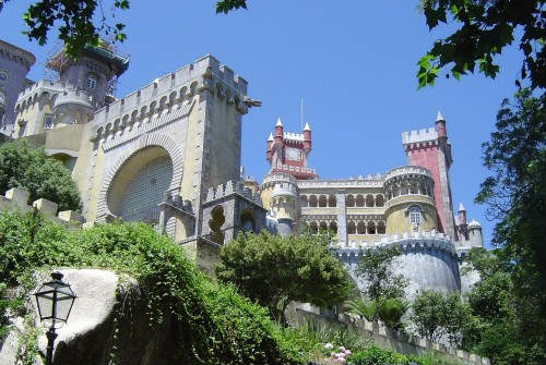 Excursión a Sintra, bella arquitectura romántica