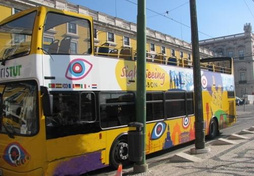 Lisboa en autobús panorámico
