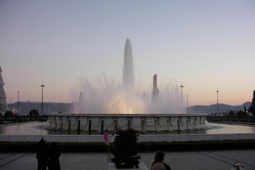 La Plaza del Imperio, descanso al aire libre