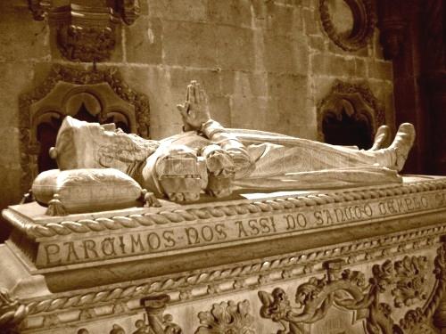 La tumba de Vasco da Gama
