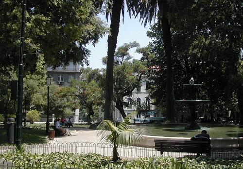 La Plaza de la Alegría, punto tradicional