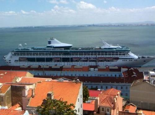 El puerto de Lisboa y su gran actividad de cruceros