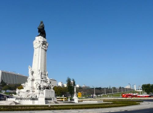 Plaza Marqués de Pombal, personaje fundamental de la historia