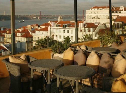 Bairro Alto, recomendable hotel en Plaza Camoes