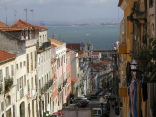 Barrio Lapa en Lisboa