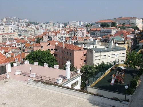 Jardín de Torel, uno de los miradores de Lisboa
