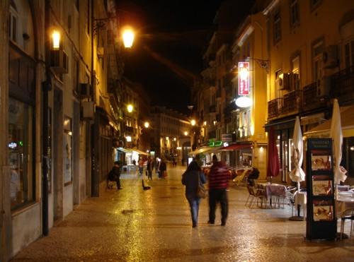Rua das Portas, calle de restaurantes