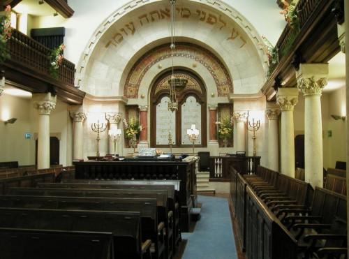 Shaar Tikva, centenaria sinagoga de Lisboa