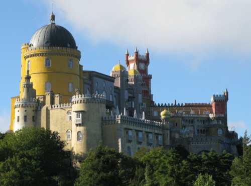 Palacio Nacional da Pena, joya del romanticismo