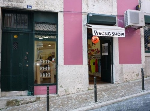 Recuerdos diferentes en The wrong shop
