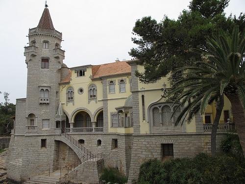 Palacio de los Condes de Castro Guimaraes en Cascais