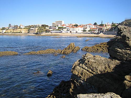 Fuerte en la playa da Poca de Estoril