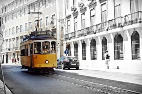 Trenes en Lisboa